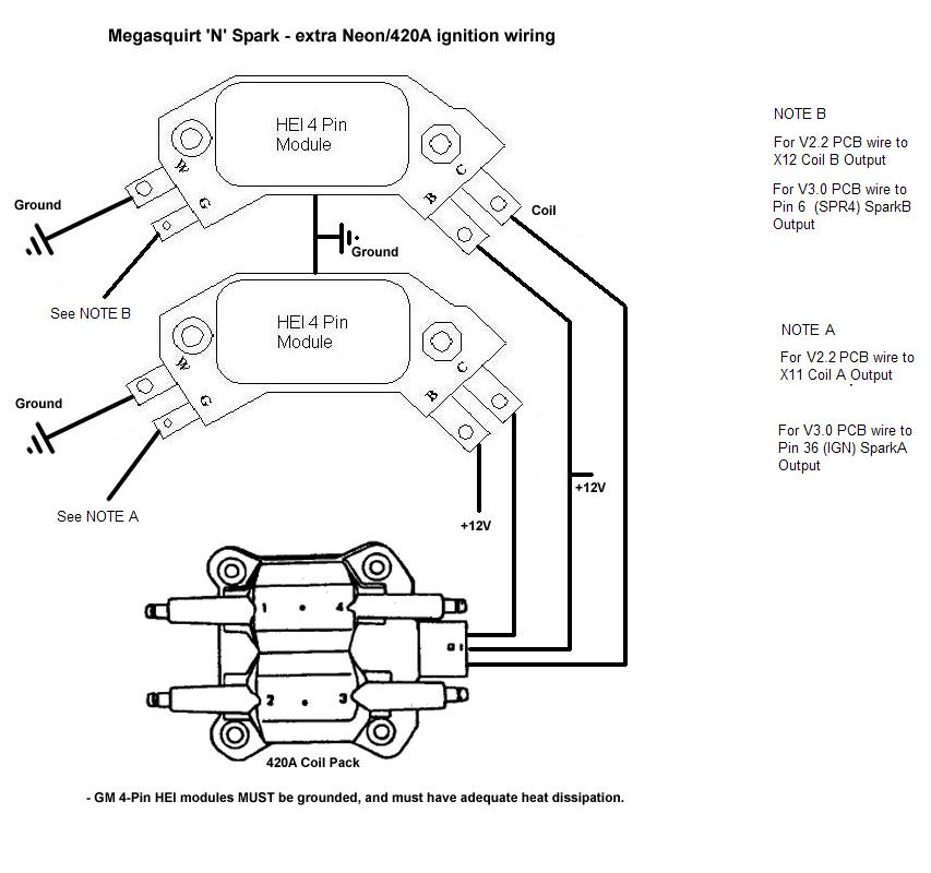 Peugeot 405 Ignition Coil Wiring - Electrical Schematic
